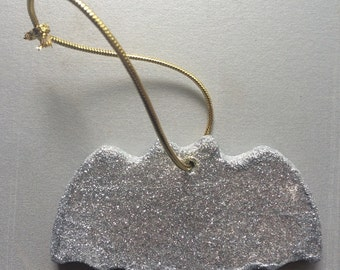 Glitter Bat hanging decoration