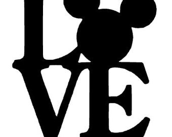 Love Mickey Mouse Etsy