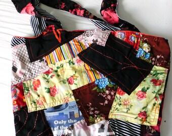 Bag patchwork boho style