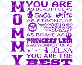 Mommy You Are SVG,EPS,PNG,Studio