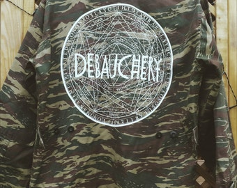 Debauchery Camo/Army Jacket.