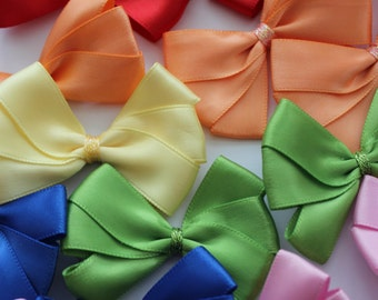Handmade Bow Hair Clips