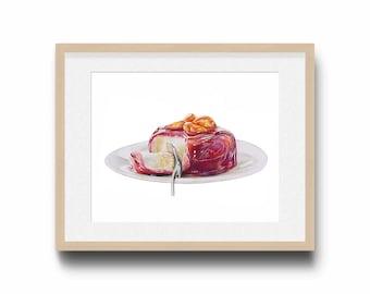 Citrus delight / Food art / Food illustration / Home decor
