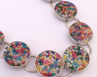 SPRINKLES! Real candy sprinkle bracelet