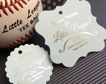 Baby shower favor tags, birthday party favor tags, little girl party