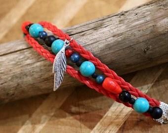 Bracelet blue summer