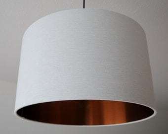 "Lamp shade ""White copper"""