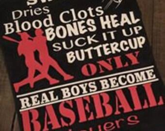 Only Real Boys Become Baseball Players Shirt