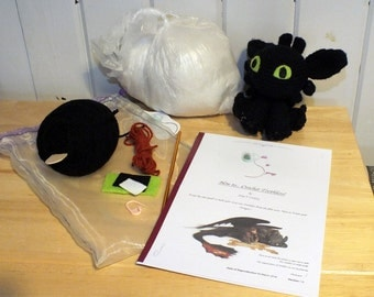 Crochet your own Toothless! (Kit)