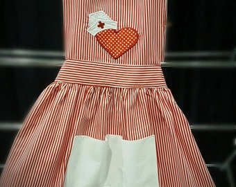 Girls nurse apron