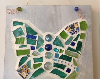 Personalized Butterfly Mosaic