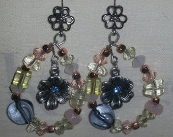 Blossom Into Spring Floral Earings