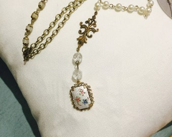 Upcycled Vintage Findings Necklace