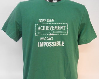 Every Great Achievement was once Impossible