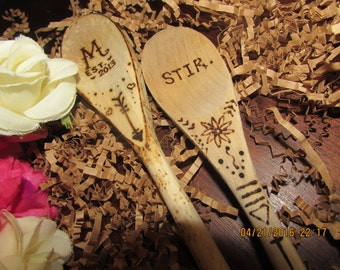 Personalized Wooden Spoons*
