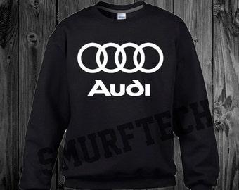 AUDI Crewneck Sweater - Multiple Color Choices