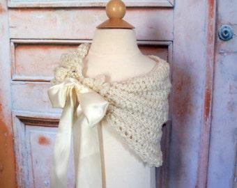 Crochet Pattern Flower Girl, First Communion Shawl Flowergirl shawl, Wedding Crochet Pattern Flower Girl Shrug Flower Girl Flower Girl Stole