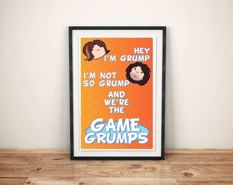 Game Grumps intro poster