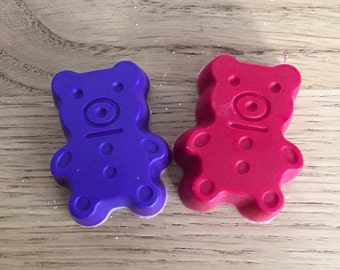 Mini Teddy Bear Crayons