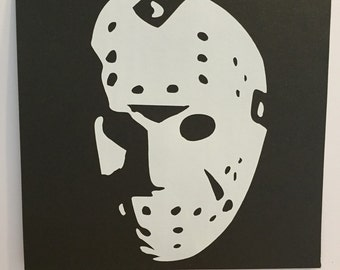 Jason Voorhees Friday the 13th decal