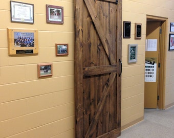 On Sale*Premium Barn Door Kit in Pine*Factory Stained*includes Hardware