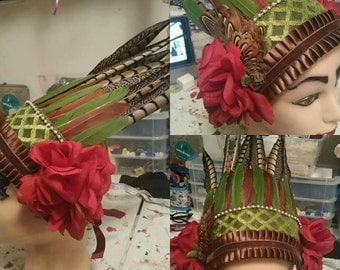Tribal fusion Bonnet
