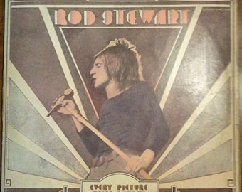 Rod Stewart - Every Picture Tells A Story SRM1-609 Vinyl Record LP 1971