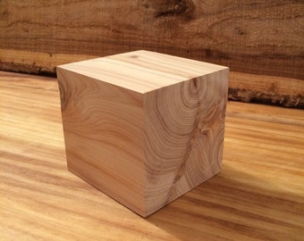 4 inch  Cedar Wood Block