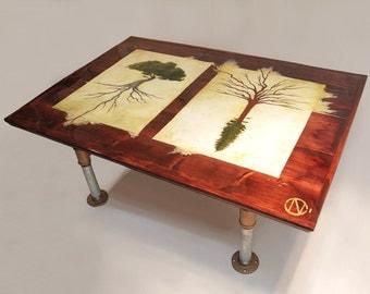 Artist J.Marley Roots Run Deep Coffee Table