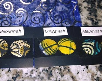 MIKAHNAH Stud earring set (One pair only)