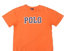 90s Polo by Ralph Lauren Spell out T-shirt