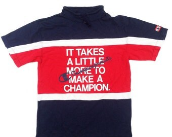 Vintage 90s Champion color block jersey