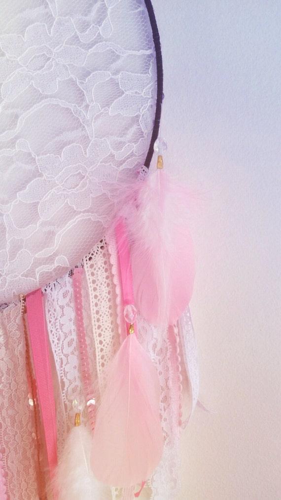 Bohemian Lace Dream Catcher