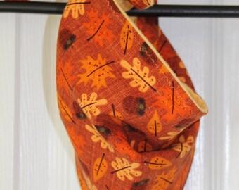 Autumn Leaves/Acorns Pet Bandana