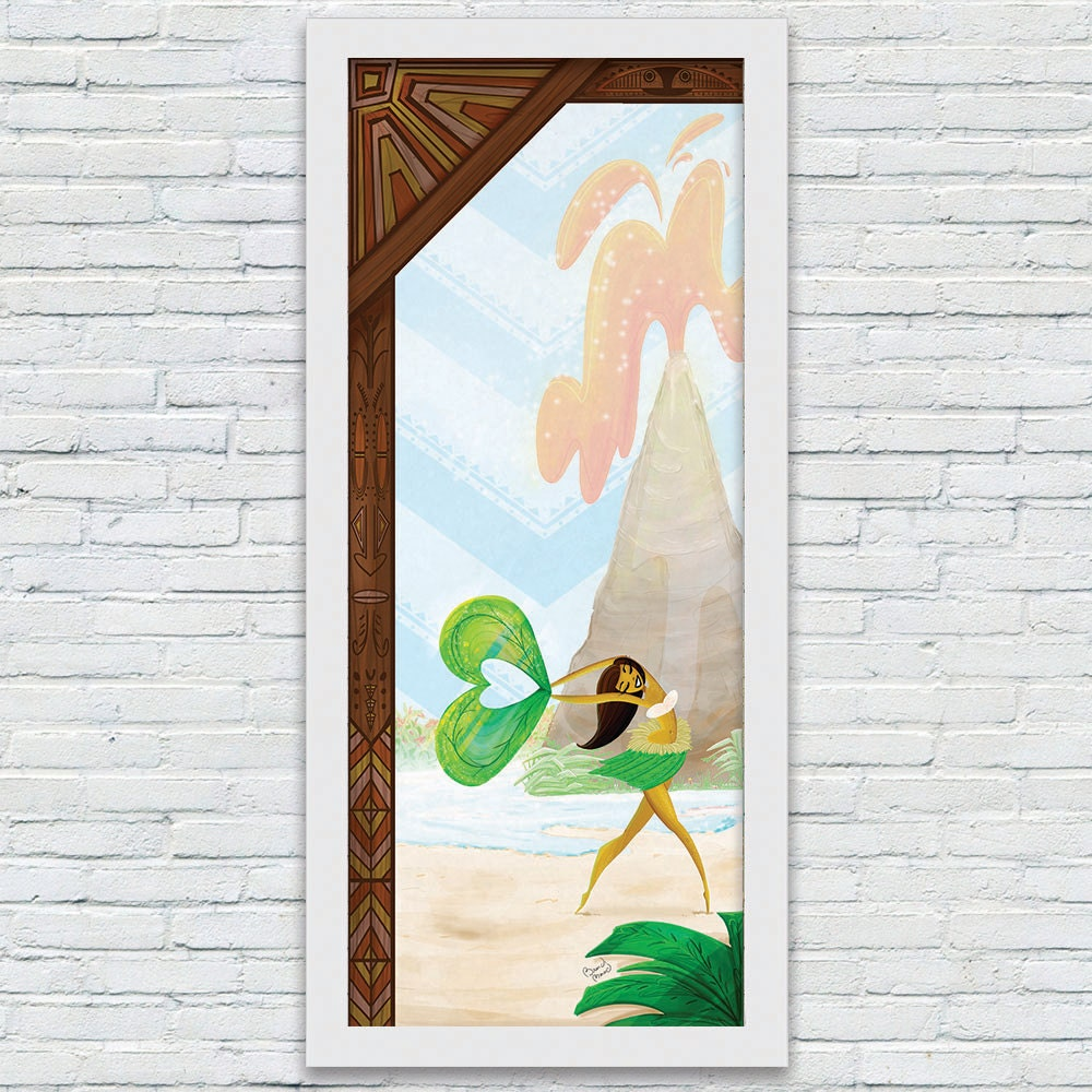 Polynesian Art Print Disney Inspired Resort Art Prints