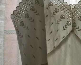 Vintage cotton lace slip