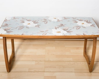 vintage upcycled coffee table