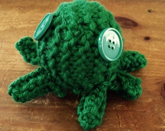 Knitted Octopus Plushie