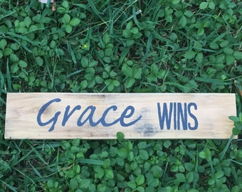 Grace Wins - Small