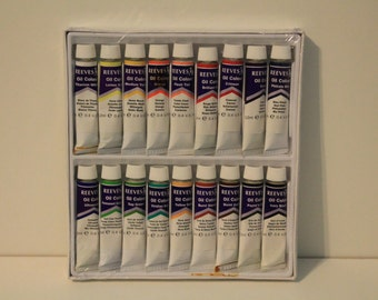 Reeves Oil Color Paint pack of 18