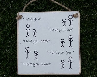 Stickman 'I love you'