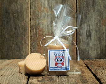 American Lager Beer Soap (set of 3)(Unscented / No added Dyes)
