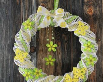 Spring wreath, wreath, wreath