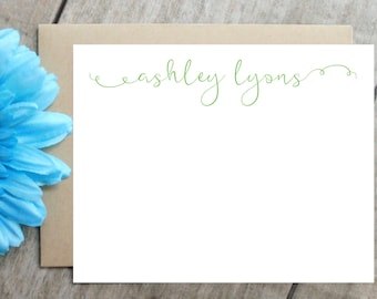 Bridesmaid Gift, Personalized Stationery, Personalized Stationary, Personalized Note Cards, Thank You Note Cards,  Custom Stationery