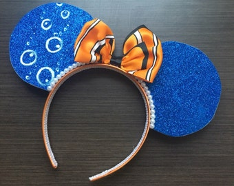 Nemo Inspired Minnie Ears