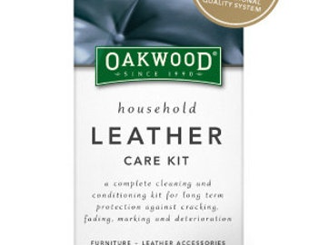 Oakwood  3 piece Leather Care Kit