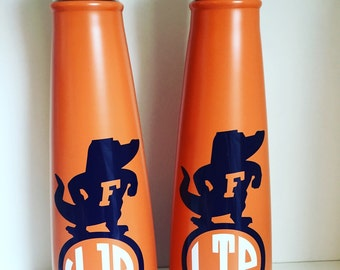 Sip by Swell Bottle with Decal {You Choose Color & Style!} Monogram or {UF Gator / LSU Inspired Monogram Decal} S'ip by S'well