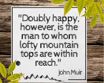 PDF Download: John Muir Quote