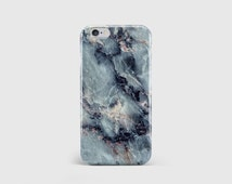 Electric Blue Marble iPhone Case, Marble Print, Marble Pattern, Marble Rock, Phone Case Cover, iPhone 6 iPhone 5 iPhone SE \ hc-pp044