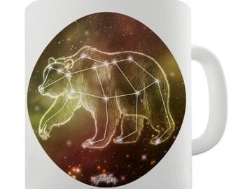 Bear Constellation Ceramic Mug